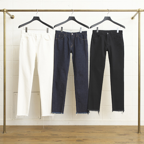 13,5OZ DENIM FIVE POCKETS CUT OFF PANT