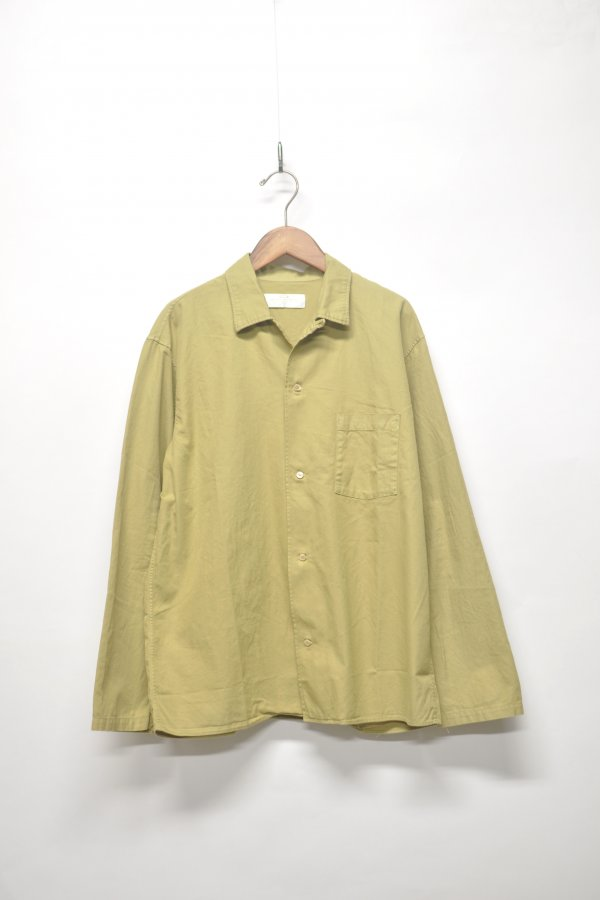 L/S OPEN COLLAR SHIRT
