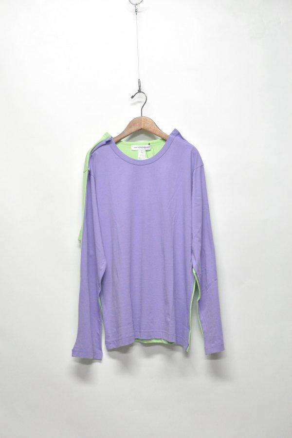 cotton jersey plain l/s