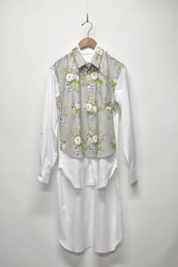 cotton poplin plain / polyester / cotton printed 1