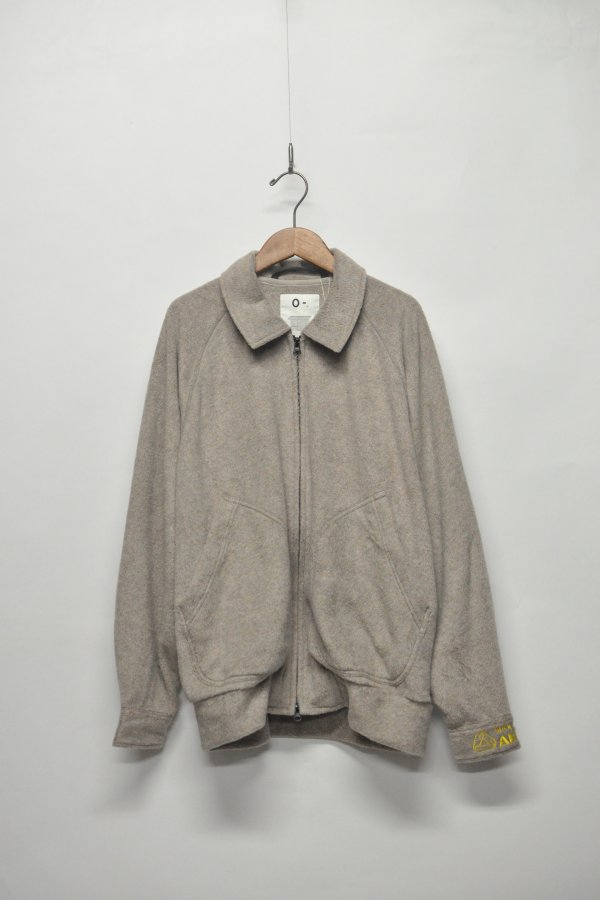 FLEECE HIGH-NECK BLOUSON