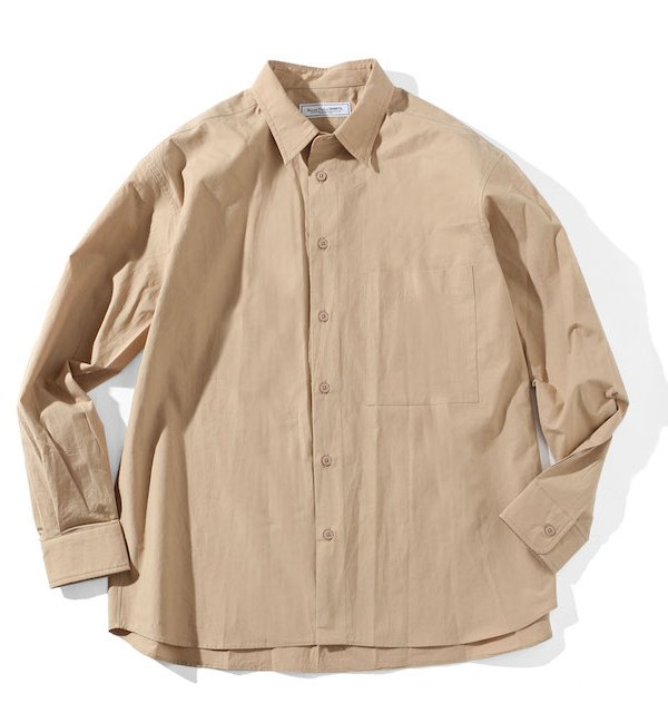 FRENCH FRONT REGULAR COLLAR SHIRT