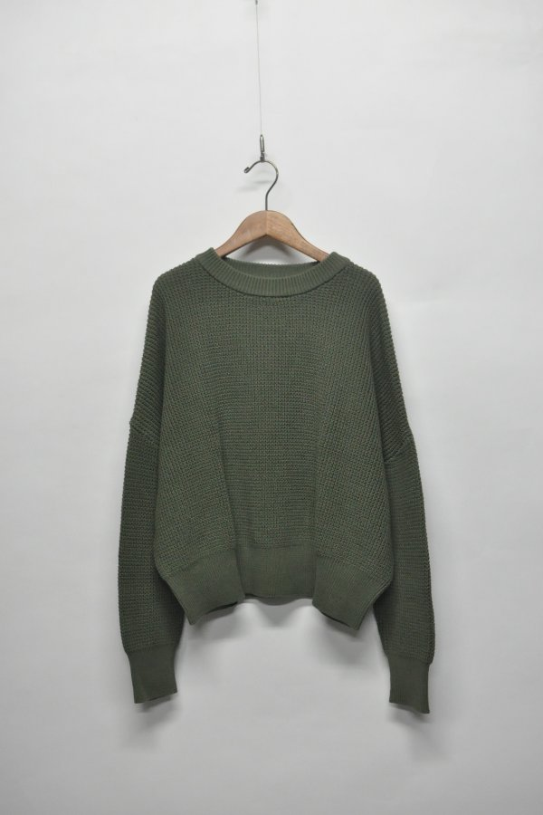 ORGANIC COTTON OVER KNIT