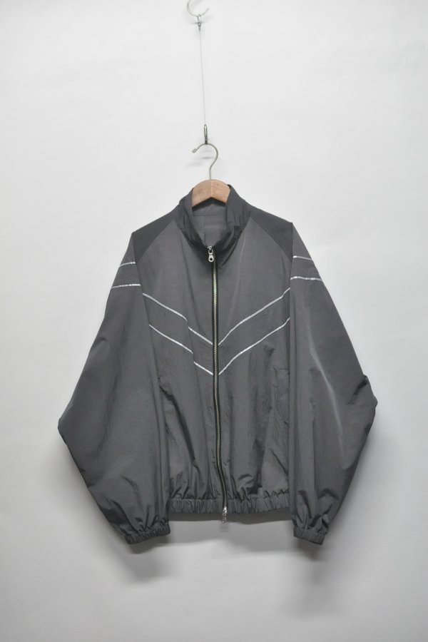NYLON ZIP UP BLOUSON