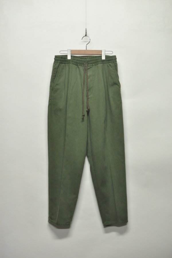 WORK TAPERED TROUSER – OLIVE