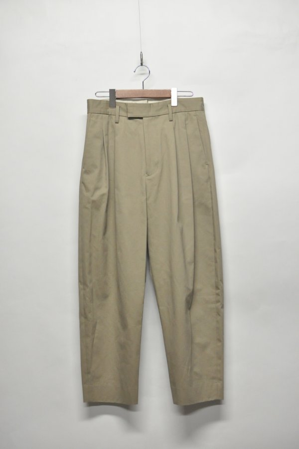 COTTON 2TUCK PANT