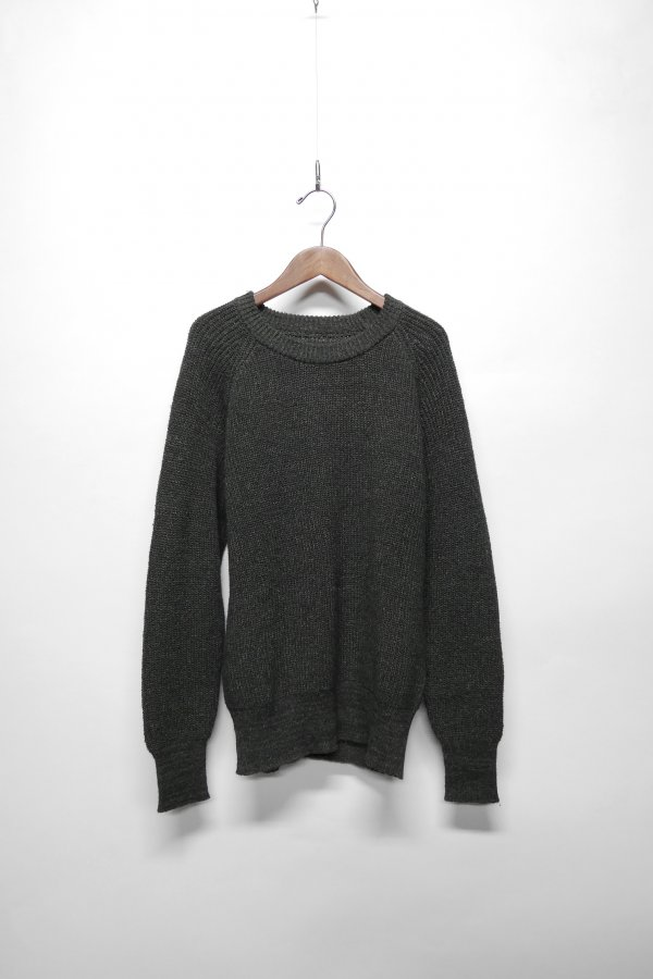 WASHI WOOL RAGLAN KNIT