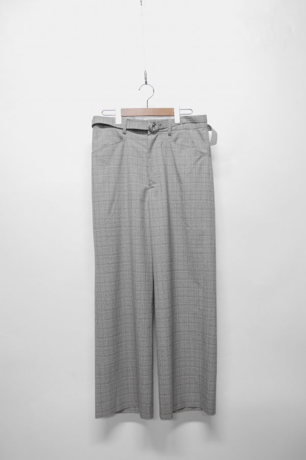 WIDE PANT – CHECK