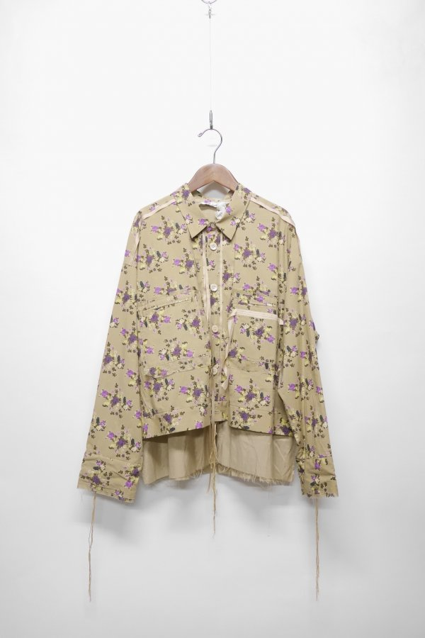 SHIRT JACKET – FLOWER
