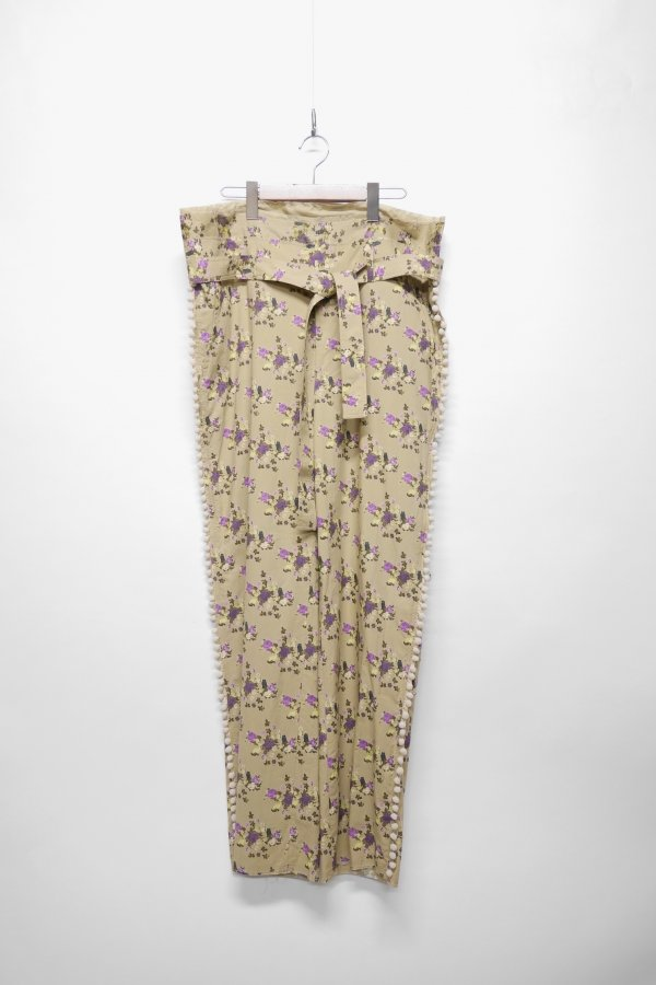 BELTED PANT – FLOWER