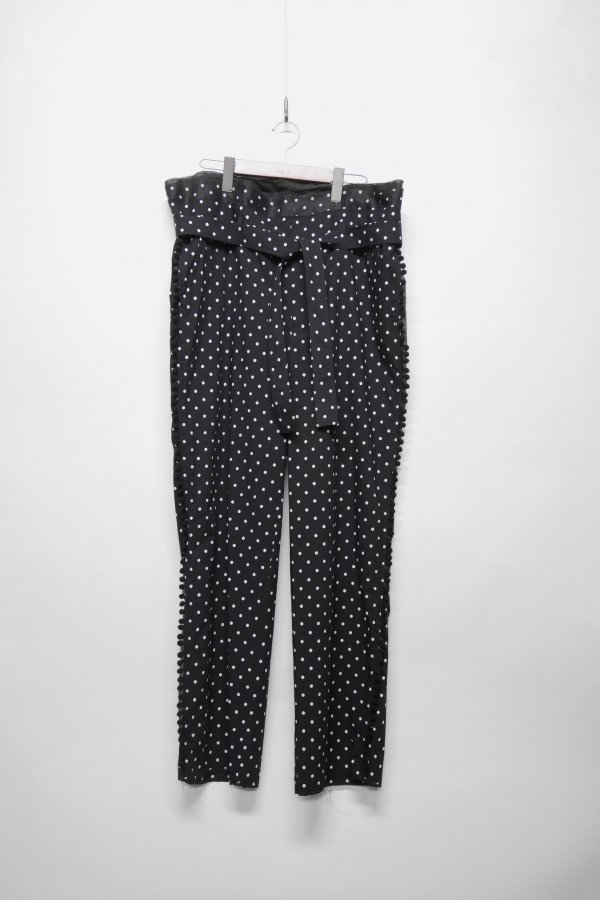 BELTED PANT – DOT