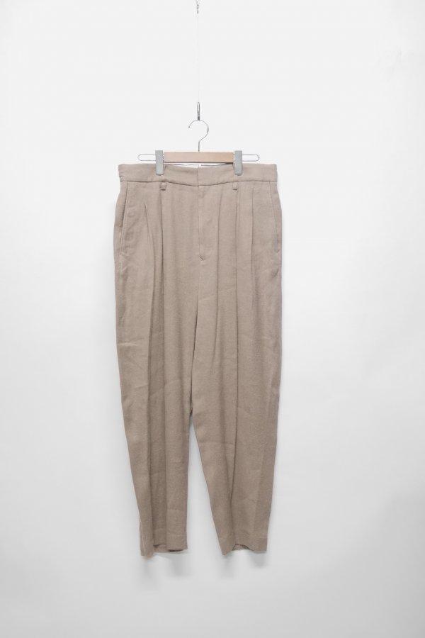 2 TUCK PANTS – TWILL