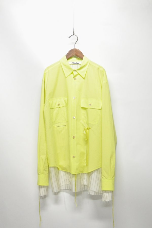 SHIRTS JACKET – YELLOW