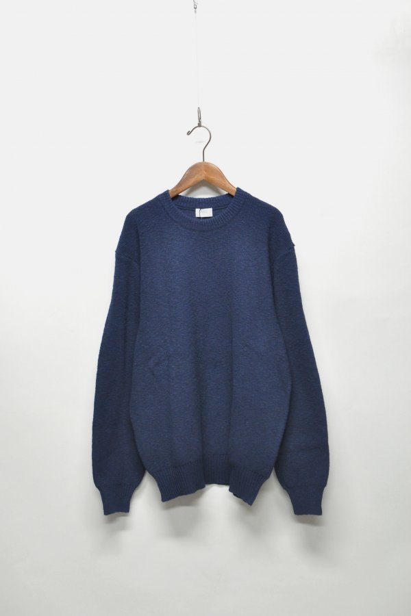 CREW NECK OVER KNIT